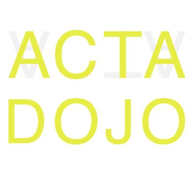Claer Acta Dojo logo Claartje van den Oever